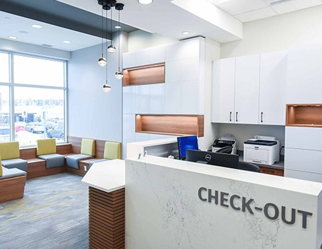 Checkout Area | SmileCode Dental | NW Calgary | General Dentist