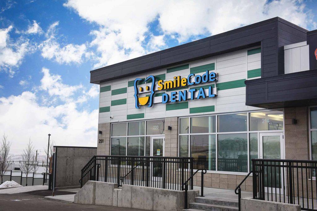 Building Entrance | SmileCode Dental | NW Calgary | General Dentist