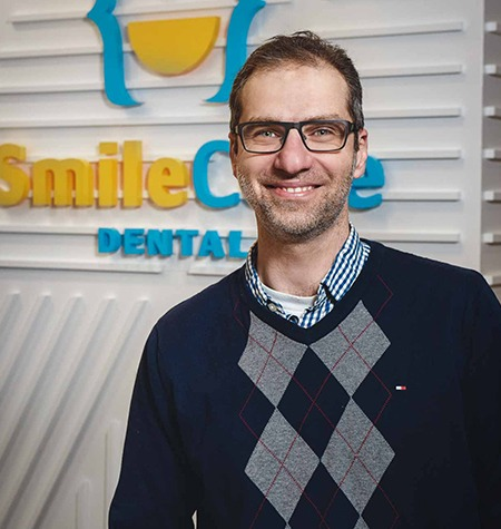 Dr. Ammar Mushantat | SmileCode Dental | NW Calgary | General Dentist