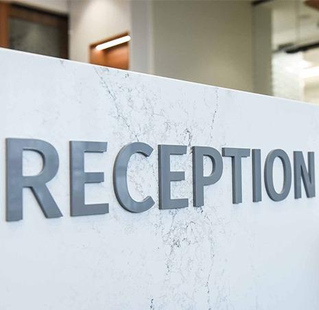 Reception | SmileCode Dental | NW Calgary | General Dentist